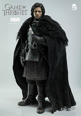 3A: 1/6 Scale - Jon Snow - Game Of Thrones - Rare! Deluxe Figure - New/Sealed!