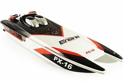"""PX-16 1:16 32"""" 2.4G RC Speed Boat Storm Engine Radio Remote Control Electric NEW"""