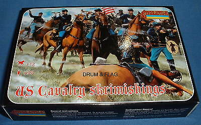STRELETS Set 151 - US UNION CAVALRY SKIRMISHING - ACW - 1/72 SCALE