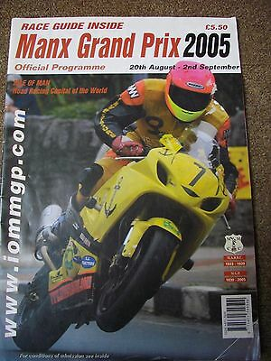 Manx Grand Prix Official Programme 2005