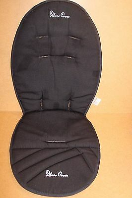 Silver Cross Surf Replacement Reversible Pushchair  Liner Black