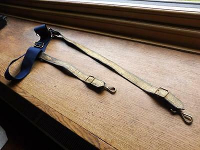 19th Century British Army Scottish Dress Sword Belt with hanging straps