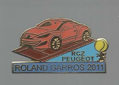 Pins Pin's Tennis Auto Peugeot Sochaux  Automobile Egf