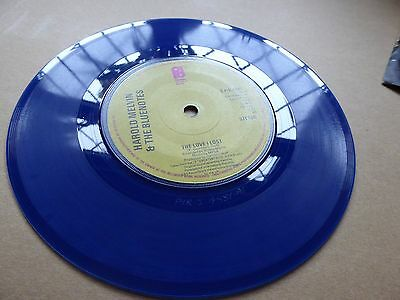 Harold Melvin & The Bluenotes, 7 inch single,  blue vinyl, sould, Ex/vg, record