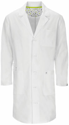 "Code Happy 36400AB Unisex 38"" Unisex Lab Coat Medical Uniforms Scrubs"