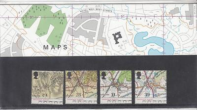 Gb Maps 1991 Mnh Presentation Pack Or Stamps Your Choice Po Fresh