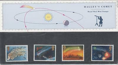Gb Halley's Comet Mnh Presentation Pack Or Stamps Your Choice Po Fresh