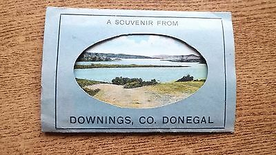 Co. Donegal Downing's Fold Out Picture Postcards Fannies Bay Dooey Bay X 12