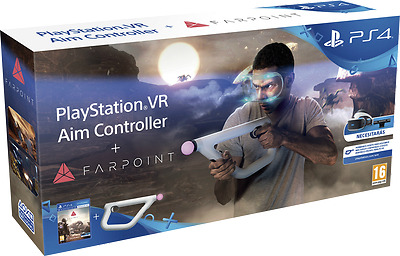 Aim Controller + Farpoint PlayStation VR PS4