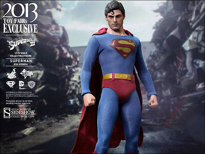 HOT TOYS 1/6 DC:  ToyFair 2013 Superman II - Evil Superman - Reeve - Brand NEW!