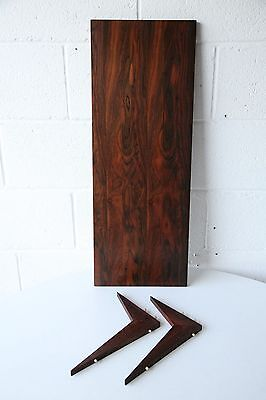 Single Rosewood Shelf for the Royal System by Paul Cadovius
