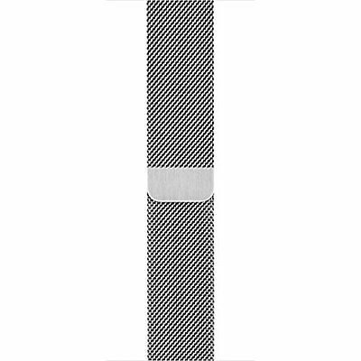 Genuine Apple Milanese Loop for Apple Watch 42mm MJ5F2ZM/A Stainless Steel - VG