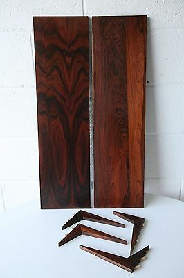 Pair of Rosewood Shelves for the Royal System by Paul Cadovius