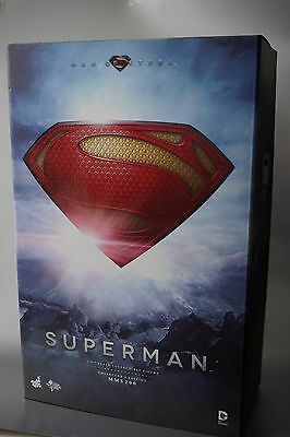 HOT TOYS 1/6 DC MAN OF STEEL- SUPERMAN -  EX Version with 1/1 Command Key! NIB!