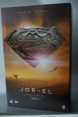 HOT TOYS 1/6 DC MAN OF STEEL- Jor-El - Russel Crowe - NIB!