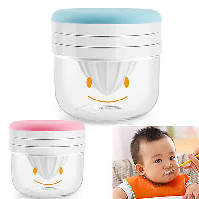 Chic Baby Food Grinder Fruit Grinding Tool Manual Juicer Infant Food Accessory