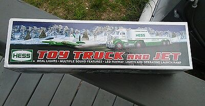 2010 Hess Toy Truck and Jet Plane New in Box