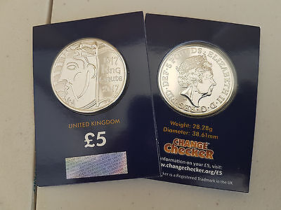 2017 BUNC in packs House of Windsor / King Canute £5 Coin - Choose your new coin