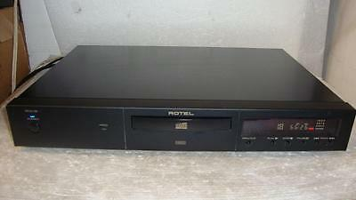 Rotel RCD-02 Audiophile CD Player With Remote-Fantastic Sound-HDCD PLAYBACK