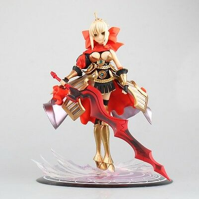 Fate Extra 1/8 Scale Saber Red Costume Figure Anime NEW
