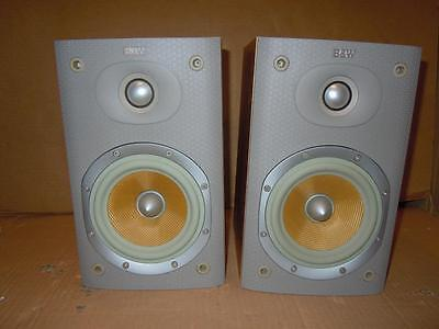 B&W DM600 S3 Speakers-Boxed-No Front Covers-SUPERB SOUND.