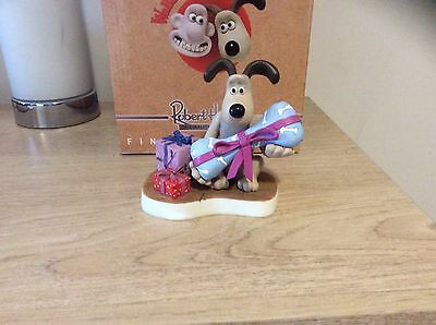 Robert Harrop WALLACE & GROMIT WGCS15 CHRISTMAS WRAPPED UP LTD ED 300