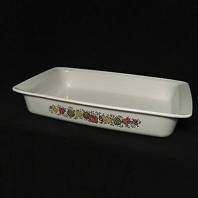 Vintage Corning Ware Spice Of Life P-332 Lasagna Pan Open Roaster