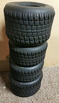 Maaxis TKM kart wet tyres retro vintage. Wt3.. see images. Very little wear.