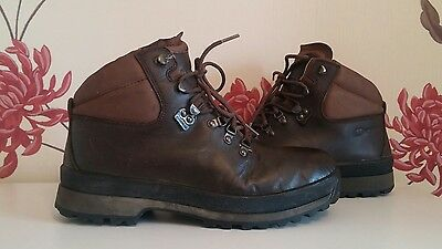 Berghaus Hillmaster Gtx Gore-Tex Brown Leather Mens Hiking Boots Size 9 Uk