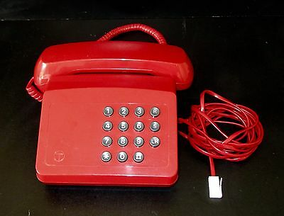 A nice vintage red Tribune phone.