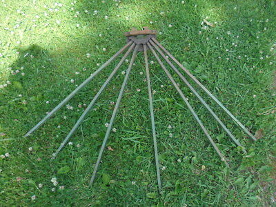 Antique American Wall Mount Wood Clothes Dryer