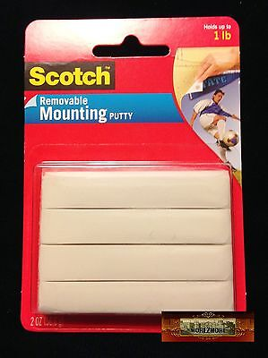 M01006a MOREZMORE Scotch 3M Adhesive Mounting Putty BJD Eye Beige 2 oz T20