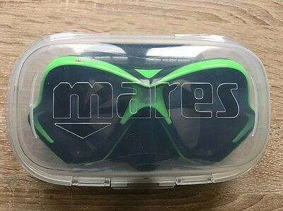 Mares X Vision Dive Mask New Version with Tri Comfort Skirt - Black Lime - NEW