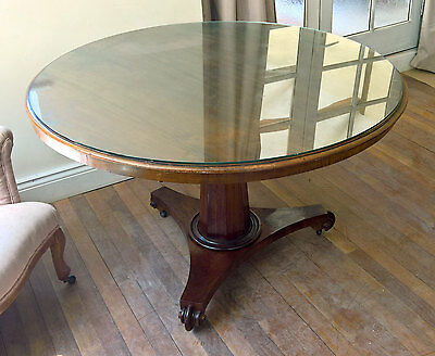 Antique Regency Mahogany Breakfast Table