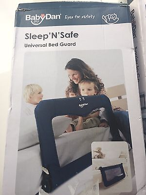 Baby Dan Sleep'n'safe Universal Bed Guard  In Box FREE POST