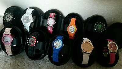 JOB LOT of Kids Watches Tikkers, Time Teachers, Hello Kitty, Party Gifts boxed
