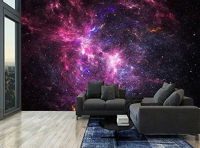 Space Galaxy Universe Stars Planets Wall Mural Photo Wallpaper GIANT WALL DECOR