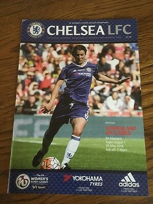 Chelsea Ladies v Sunderland Ladies 25 May 2016