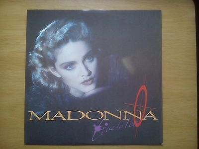 "MADONNA 12""single+poster-Live To Tell"