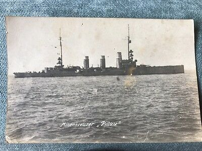 WW1 German light cruiser Vessel SMS 'Pillau MINENKREUZER