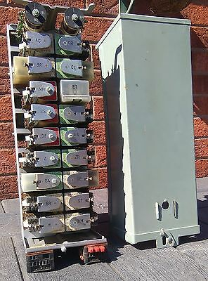GPO Strowger PABX No 1 Telephone Exchange Line Relay Set