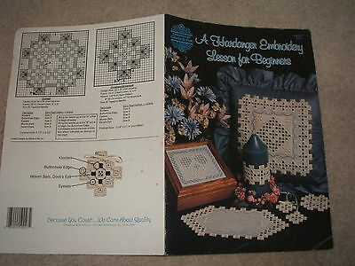 Embroidery - Hardanger Embroidery a Lesson for Beginners