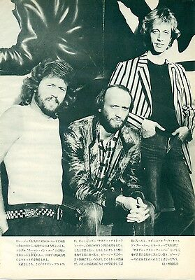Bee Gees - Clippings From Japanese Magazine Music Life 1981 - 1984