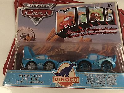 Disney Cars Mini Adventures The King And Dinoco Lightning McQueen 3+