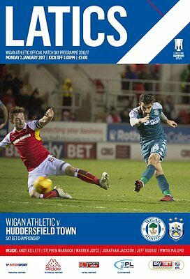 Wigan Athletic v Huddersfield Town Programme