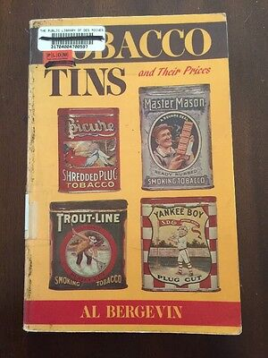 1986 Tobacco Tins and Their Prices by Al Bergevin Wallace-Homestead Book Co.