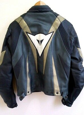 Dainese Leather Motorbike Jacket Size 46