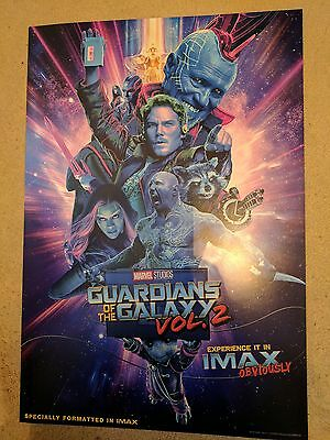 Guardians of the Galaxy Volume 2 IMAX Poster