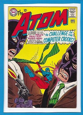 "The Atom #20_Sept 1965_Vf Minus_""challenge Of The Computer Crooks""_Silver Age!"