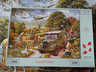 House Of Puzzles 1000Pcs Deluxe Puzzle Land Girls